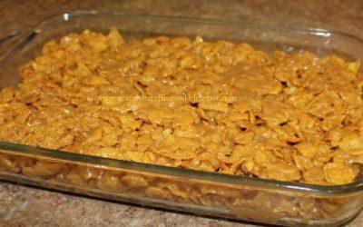 Peanut Butter Corn Flake Cookies