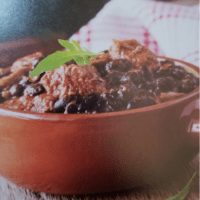 Beth's Chili with Mushrooms and Black Beans
