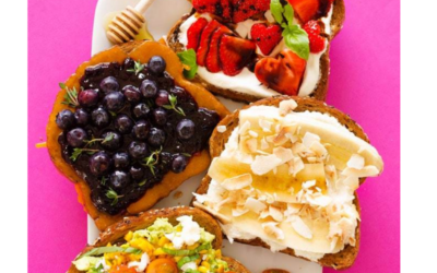 Sarah Bond provides a Heart Healthy Valentine's Day Breakfast Idea