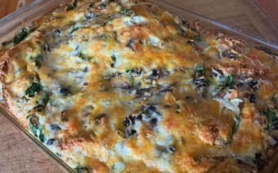 Mother's Day Make Ahead Breakfast Casserole