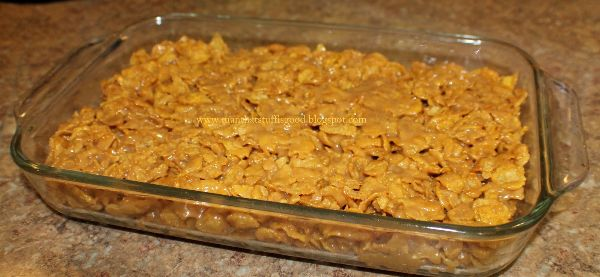 picture of peanut butter corn flake cookies